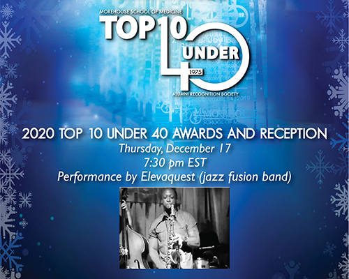 2020 Top 10 Under 40 Award and Reception