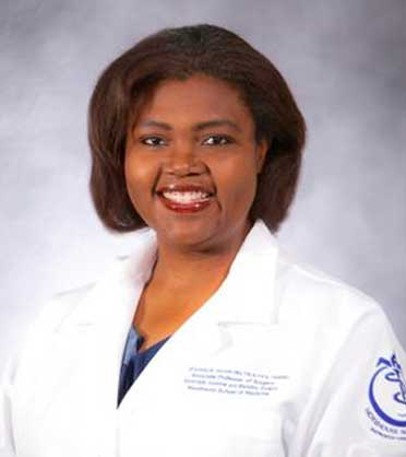 Shaneeta Johnson, MD MBA FACS FASMBS, Associate Professor of Surgery, Program Director - Surgery Residency, Director - Minimally Invasive and Bariatric Surgery, Diplomate - American Board of Obesity Medicine