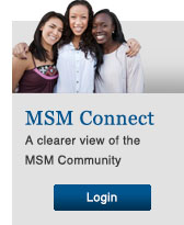 Login to MSM Connect: A Clearer view of the MSM Community